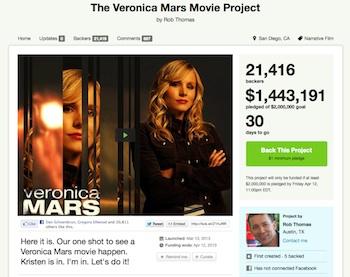 Veronica Mars Kickstarter