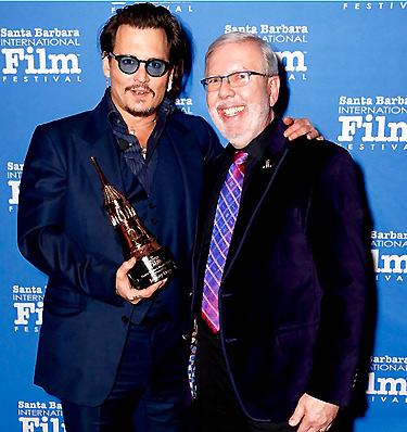 Johnny Depp - Leonard Maltin- Maltin Modern Master
