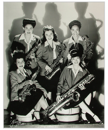 The Sweethearts Sax Section