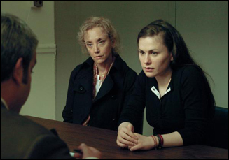 J. Smith-Cameron and Anna Paquin in 'Margaret'.