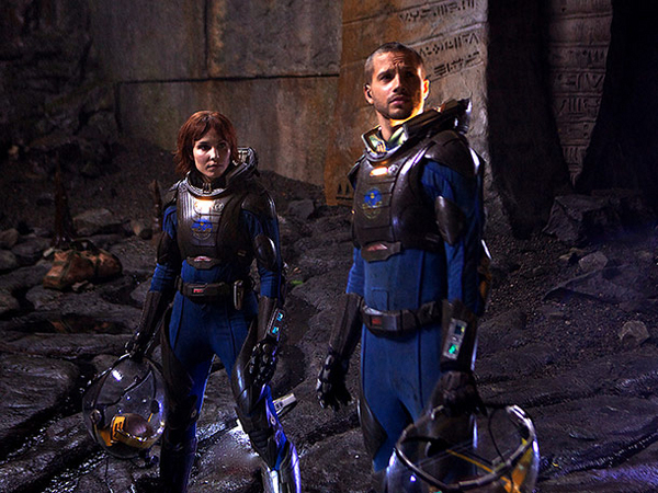 Prometheus Noomi Rapace Logan Marshall-Green