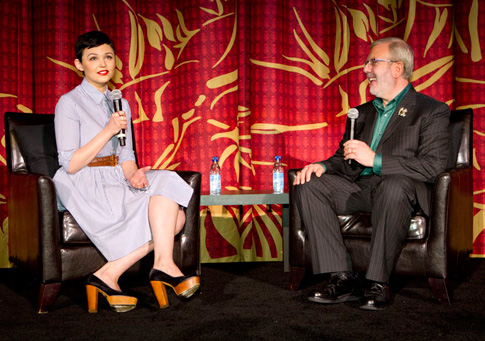 Ginnifer Goodwin talks about her love of Disney's 'Snow White' during TCM's Classic Film Festival.
