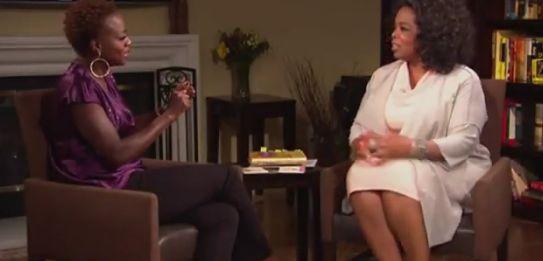 Viola Davis and Oprah Winfrey