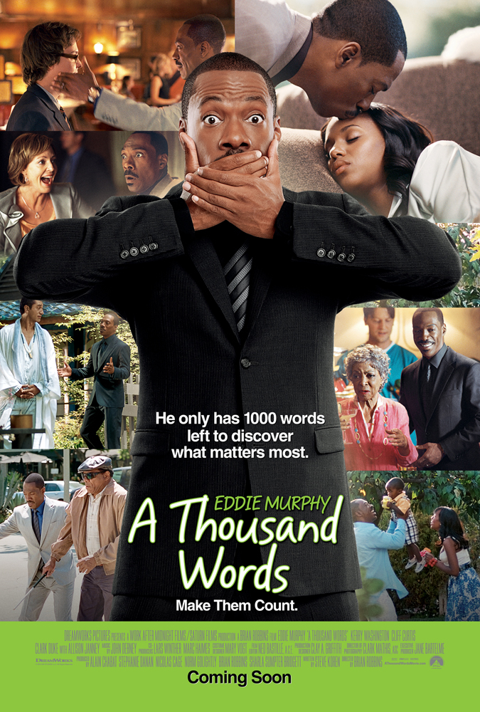 Thousand Words UK poster