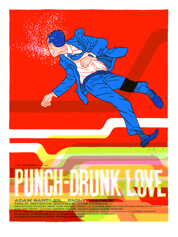 Mondo Poster Punch Drunk Love