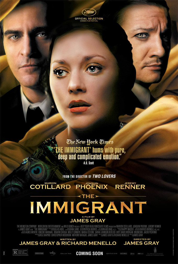 The Immigrant, poster