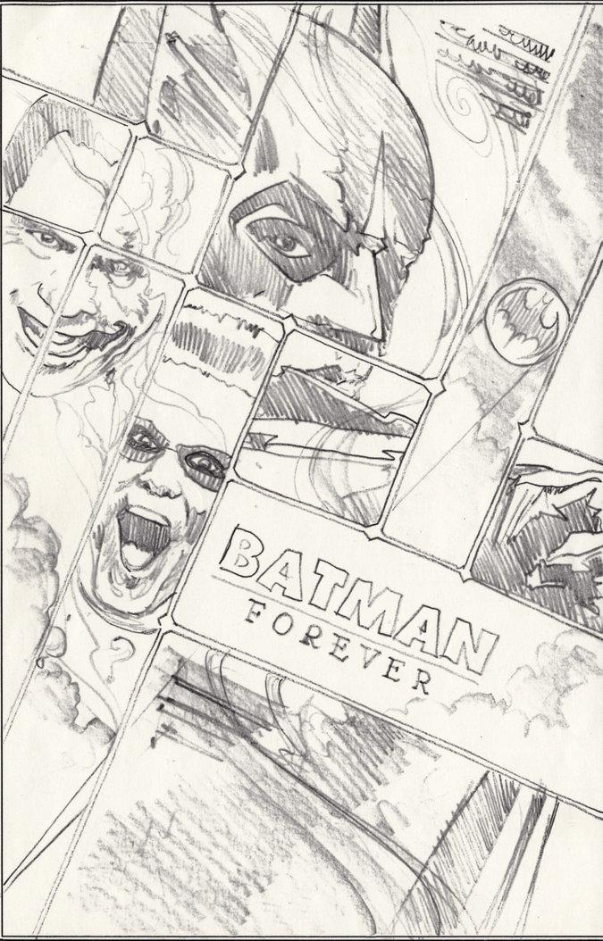 """""""Batman Forever"""" Artwork"""