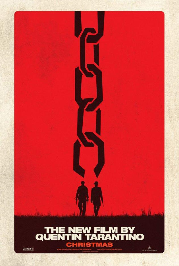 Django Unchained North American Poster