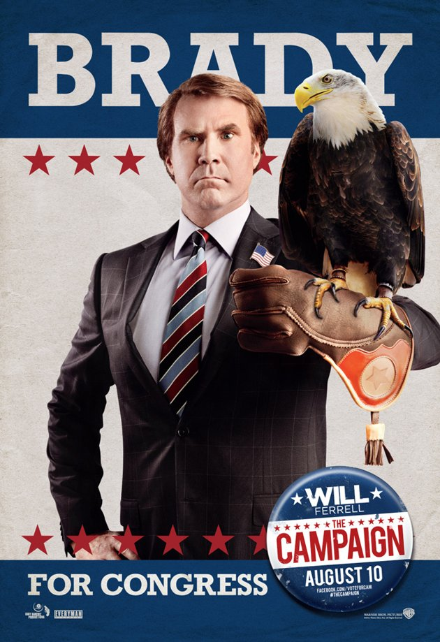 Will Ferrell, Campaign, poster (skip crop