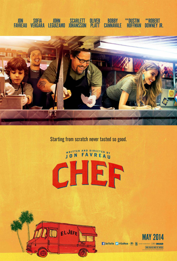 Chef, poster