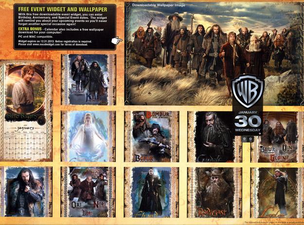 Hobbit Calendar