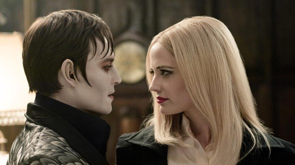 Eva Green Johnny Depp Dark Shadows