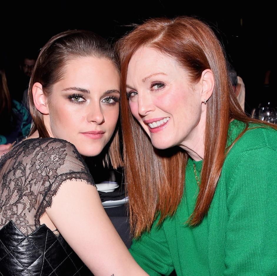 Kristen Stewart and Julianne Moore at NYFCC Awards