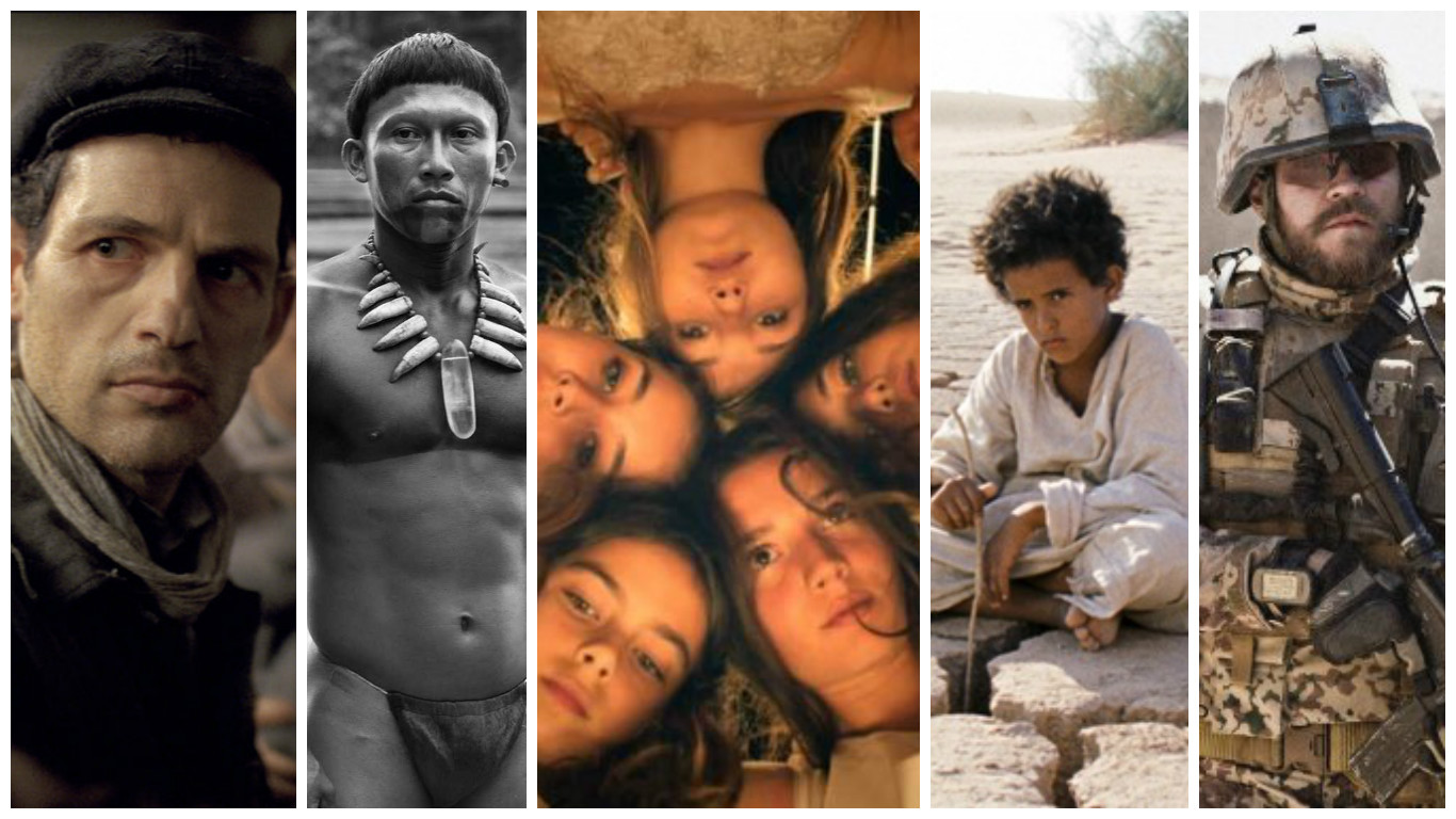 """Son of Saul,"" ""Embrace of the Serpent,"" ""Mustang,"" ""Theeb,"" ""A War"""