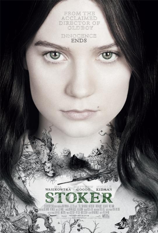 Stoker Mia Wasikowska Poster