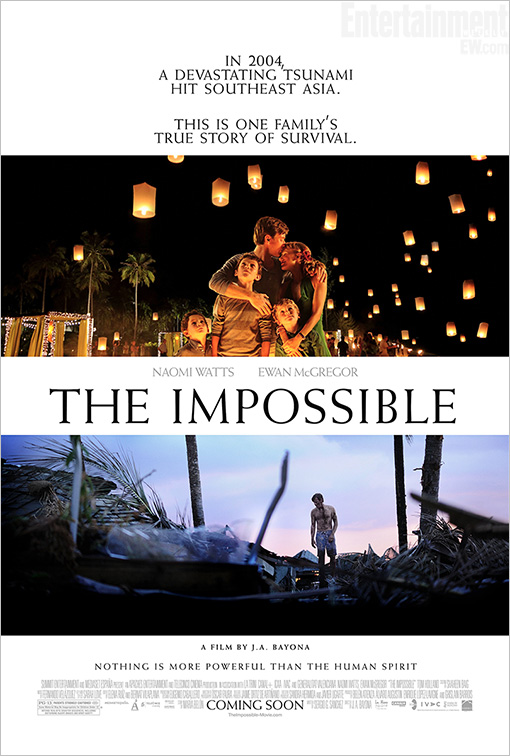 The Impossible, poster