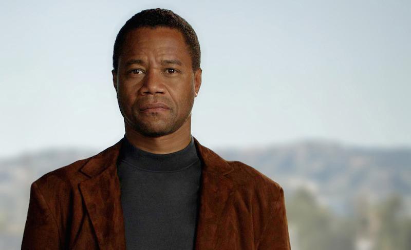"Cuba Gooding Jr. as OJ Simpson in ""American Crime Story: The People vs. OJ Simpson"""