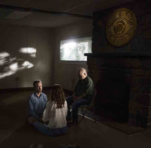 "Aaron Paul & Michelle Monaghan in ""The Path"" Episode 3"