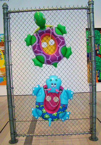 Chainlink Fence, by Jeff Koons