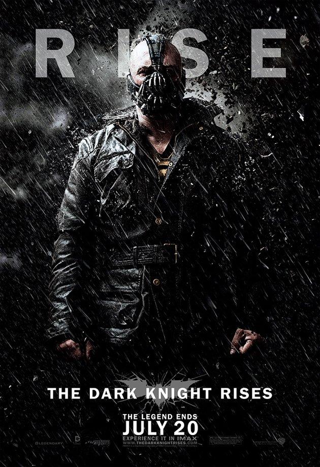 Dark Knight Rises Character Poster Bane
