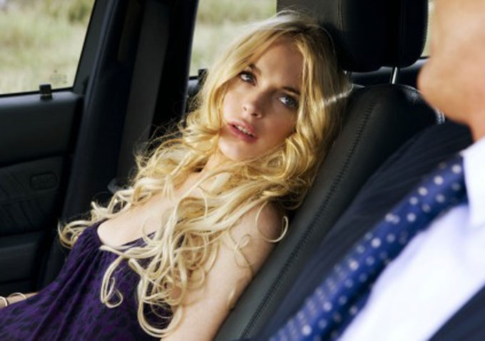 Lindsay Lohan in 'Machete'