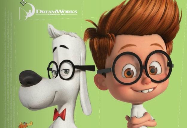 Mr. Peabody and Sherman skip crop