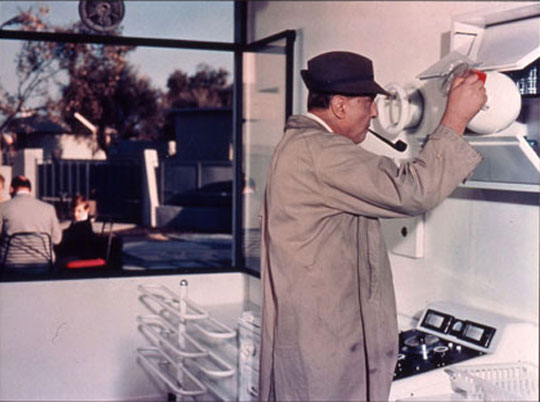 Retrospective the complete works of comedy genius jacques tati indiewire - Jacques tati mon oncle ...