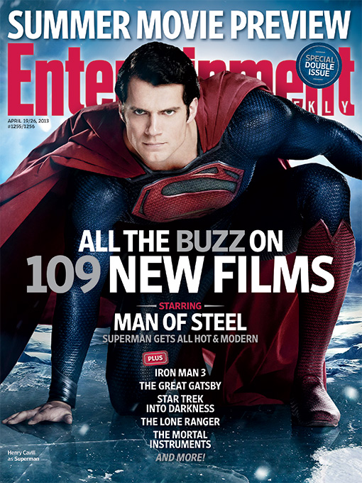 Man of Steel, Entertainment Weekly cover