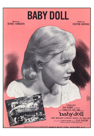Scandalous at the time of its release, the film 'Baby Doll' (1956) was banned by the Legion of Decency.