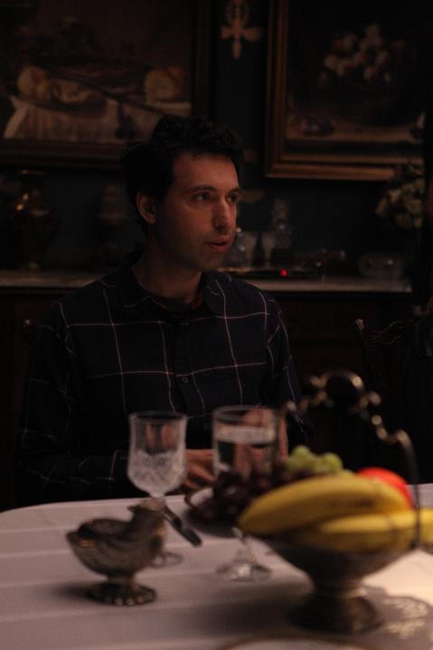 """Alex Karpovsky at """"Dinner."""""""