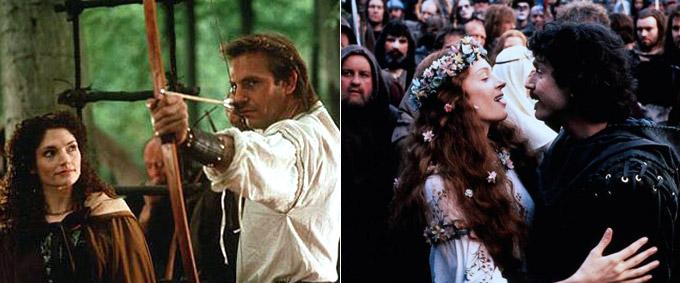 """Robin Hood"" vs ""Robin Hood: Prince of Thieves"""