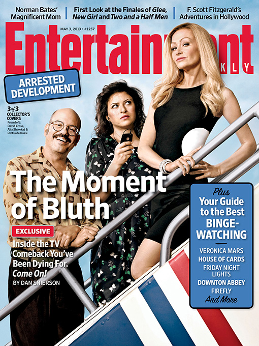 Arrested Development EW Cover