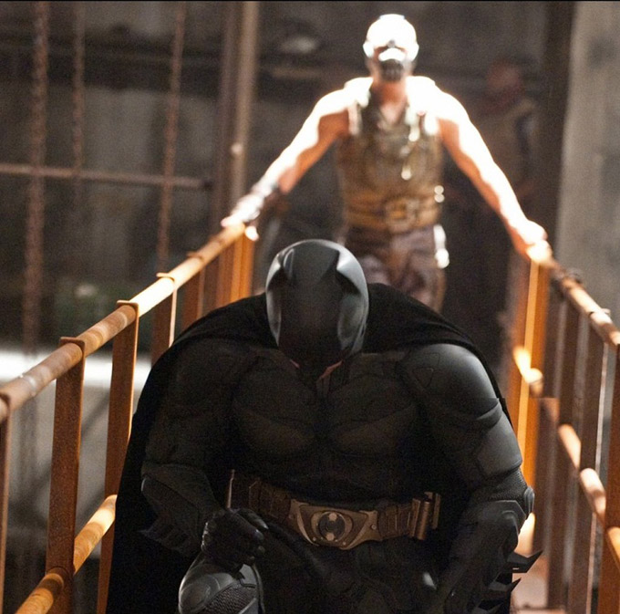 The Dark Knight Rises, Behind The Scenes