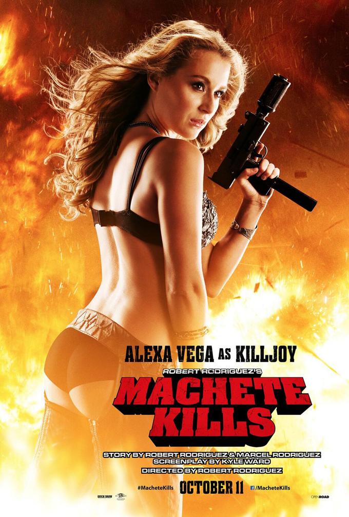 Machete Kills Poster