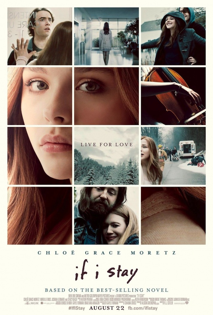 If I Stay, poster
