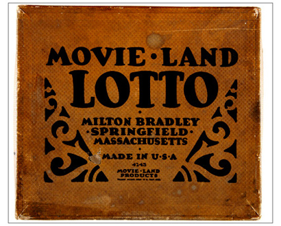 Box Cover-Movie Land Game