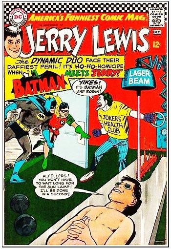 Jerry Lewis - Batman Comic