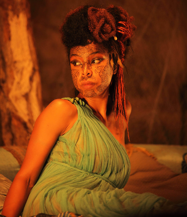 "Sophie Okonedo as ""Razia, Queen of the Water-Thieves"""