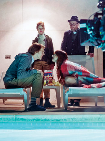 Ruby Sparks, Set photo