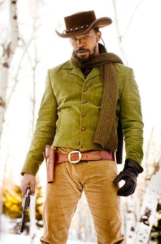 Django Unchained Jamie Foxx skip crop