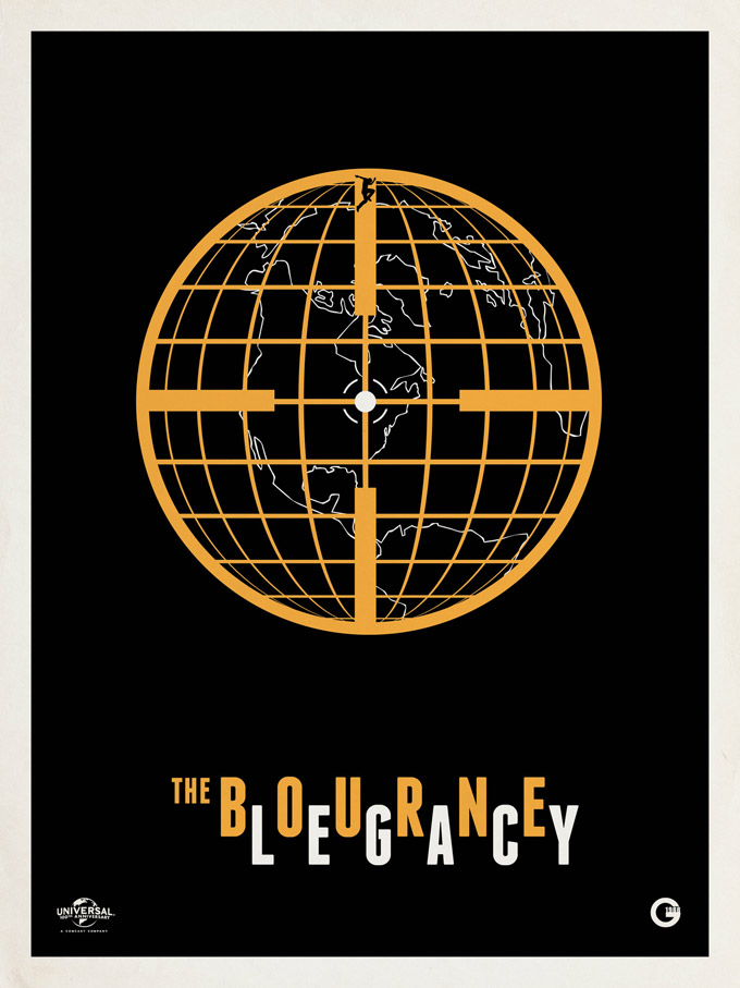 The Bourne Legacy, retro poster