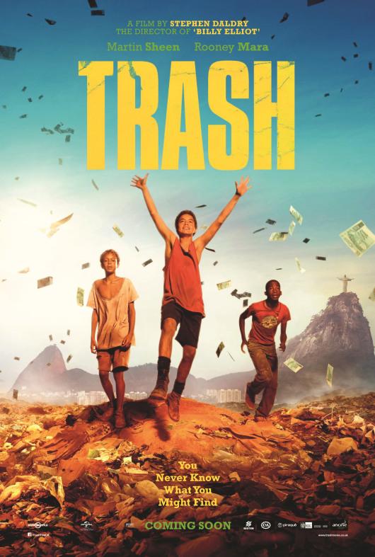 Trash, poster