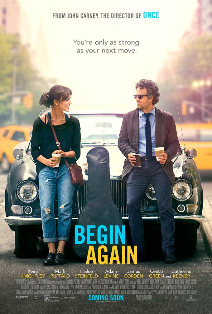 Begin Again poster