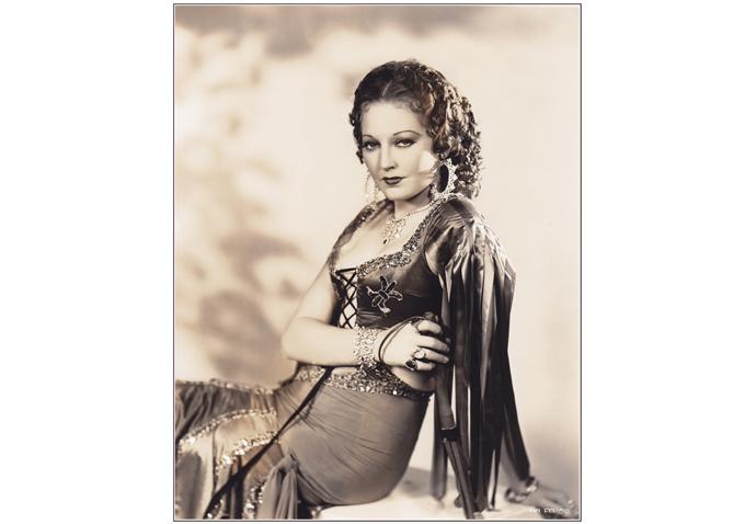 Thelma Todd-Halloween Gypsy-680