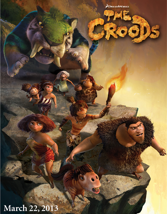 The Croods Sales Poster