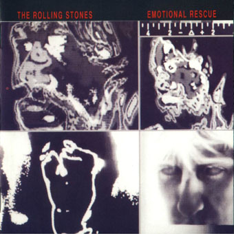 Rolling Stones Emotional Rescue cover