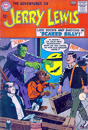 Jerry Lewis Comic Book