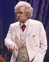 Hal Holbrook as Mark Twain