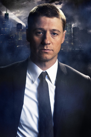 "Ben McKenzie as James Gordon on Fox's upcoming Batman show, ""Gotham."""