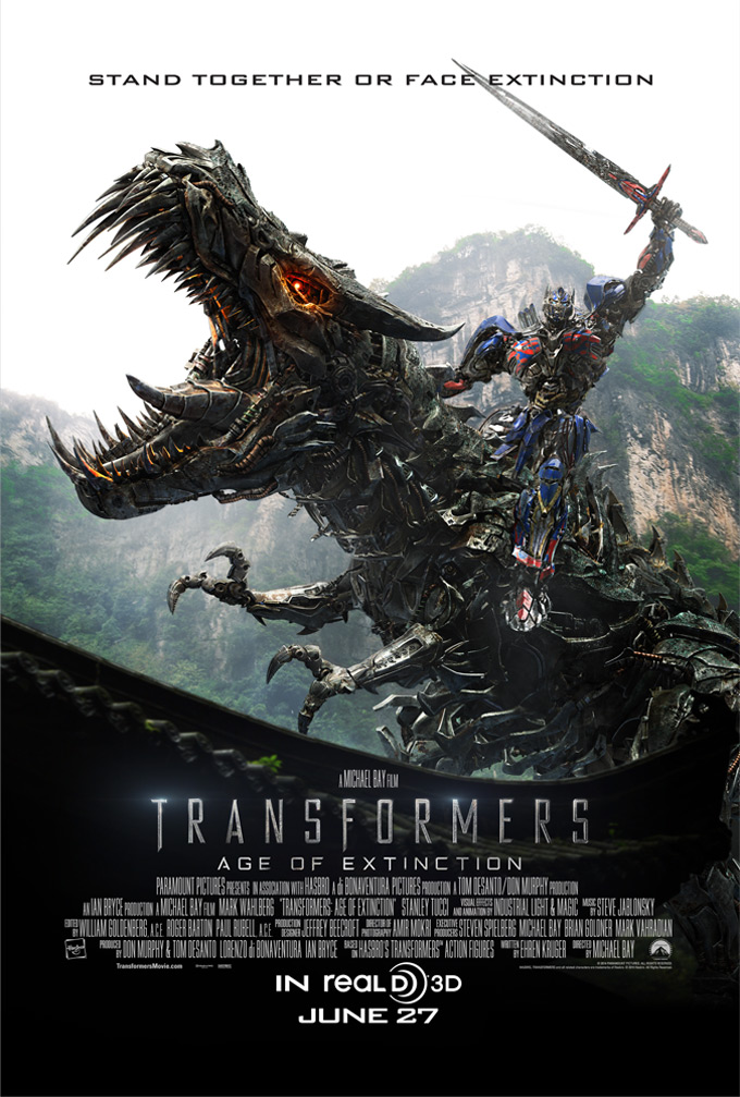 Transformers Age of Extinction, poster
